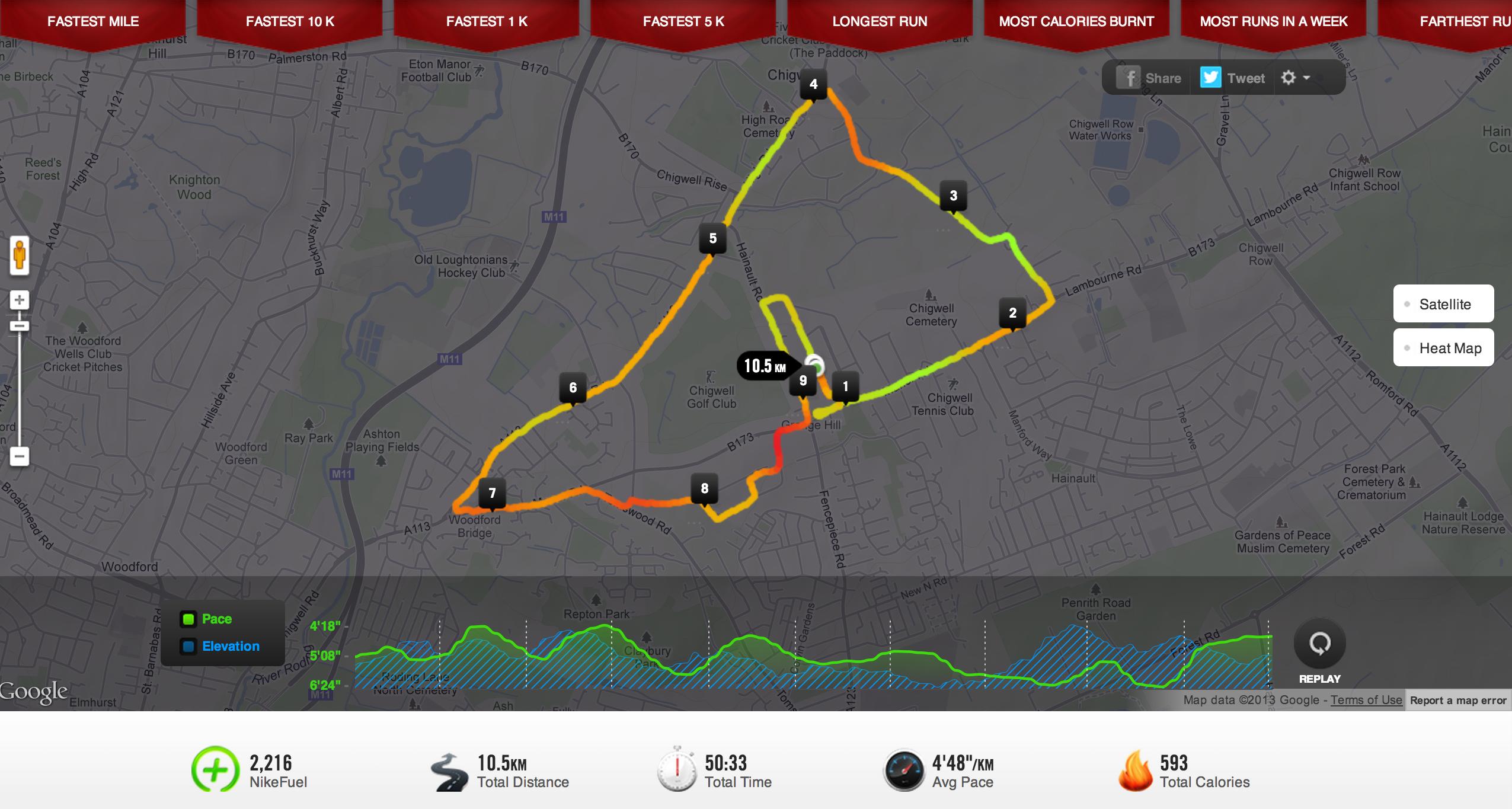 Nike+ app and Fuel Band | www.andykumar.net