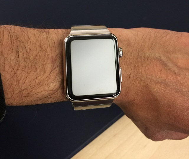 42mm Apple Watch Stainless Steel with link bracelet