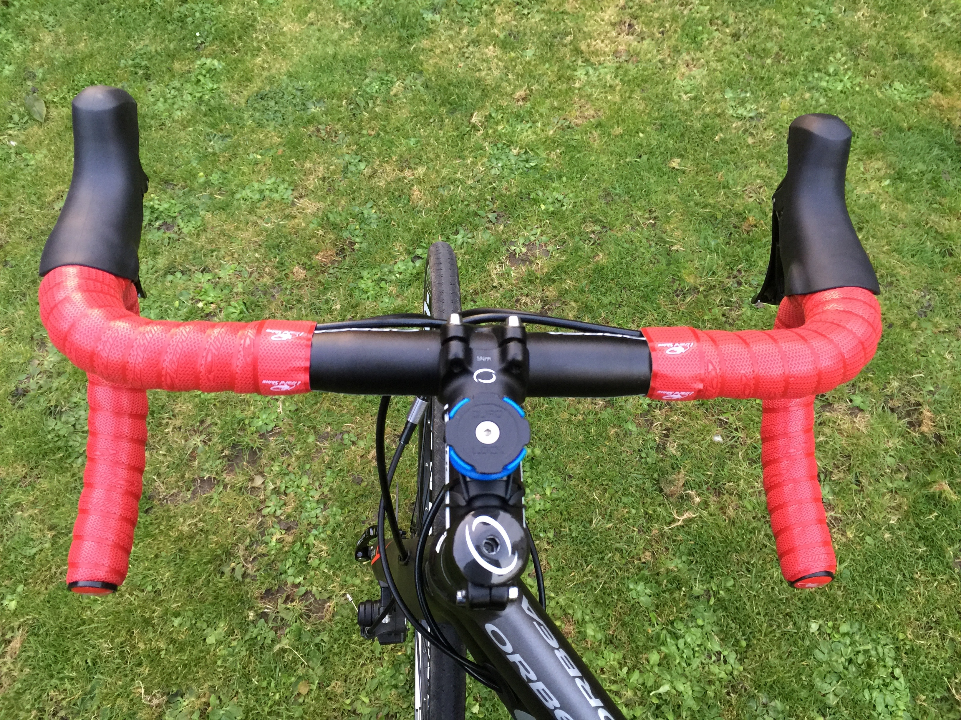 NEW Lizard Skins Red//Black DSP Bar Tape